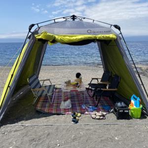 【モラップキャンプ場】クワガタ採りへ!支笏湖で子供が嬉しい水遊びも!ロケーションが最高なキャンプ場