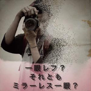 【プチ知識】一眼レカメラとミラーレスの違いって?Σ(-᷅_-᷄๑)