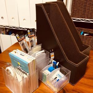 文房具収納で使用しているケース