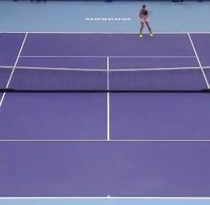 欲にまみれたテニス