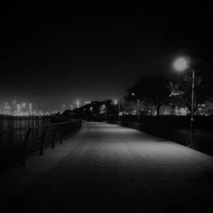 夜のジョギング