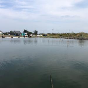 10月17日、筑波流源湖釣行半日