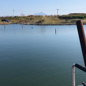 11月9日、筑波流源湖釣行半日