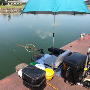 筑波流源湖 8月 9日半日釣行