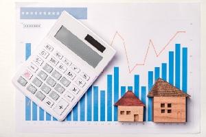 株価と不動産市況
