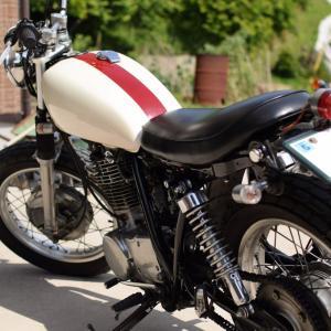 SR400 | 弟のバイクを私の友人が買取ました。