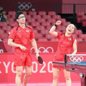 【速報】東京五輪・卓球混合ダブルス水谷・伊藤ペア 金メダル獲得  #金メダル