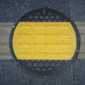 【マンホール蓋】鎌倉市⑧(点字ブロック)