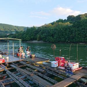 昨日の内瀬釣りセンター