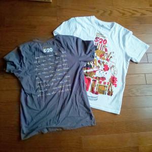 性別があってもなくても着たい服を選ぶ 『無印良品 ムラ糸天竺編みVネック半袖Tシャツ』と『嵐ライブTシャツ』