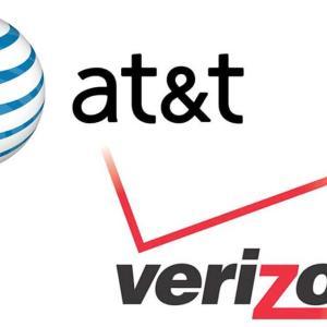 【米国株通信会社の比較】AT&T(T)とベライゾン・コミュニケーションズ(VZ)はどっちに投資するべきか
