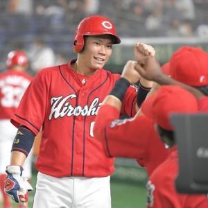 カープ坂倉が2塁打2本&遠藤の初完投アシスト!リード面も高評価