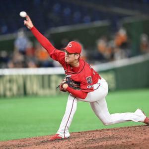 カープ遠藤プロ初完投、KJからのアドバイス生かし直球復活