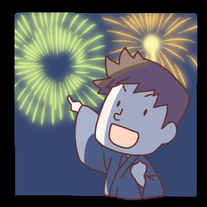 花火を怖がらずに見れるのはいつから?