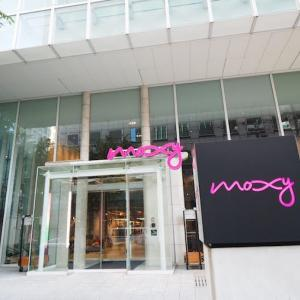 moxy大阪本町の宿泊レビュー。オシャレで遊び心いっぱいのホテル!