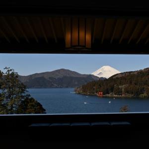 富士をもとめて、その3-元箱根「成川美術館」からの富士