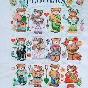 6/18 Flowers of the Month Bears進捗状況