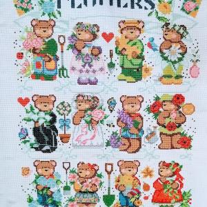 6/30 Flowers of the Month Bears進捗状況
