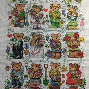 7/23 Flowers of the Month Bears進捗状況