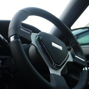 ステアリングを交換して車内の雰囲気変え