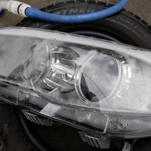 BMWのヘッドライトの結露対策