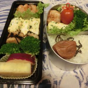 エビチリのお弁当