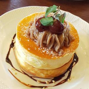 『星乃珈琲店』秋のおすすめメニュー「栗のスフレパンケーキ 」食べてきた!