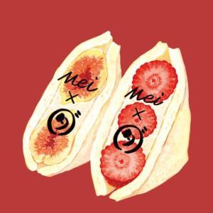 【フルーツサンド】ホテルメイ福岡天神で人気のフルーツサンドをテイクアウト【ダイワ博多】