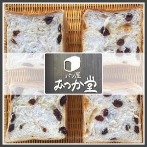 【むつか堂 】おすすめ「ラムレーズン食パン」と「角食パン」を食べた感想【塩原パン工房】