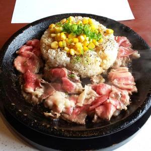 ペッパーランチ「肉塊ハンバーグ」と「お肉たっぷりビーフペッパーライス」を食べた感想。テレビで紹介された人気メニュー!