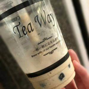 「Tea Way」もっちもちタピオカ!コラーゲン入り!