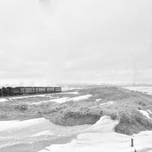 釧網本線 C58と流氷を撮る(2)