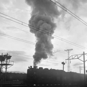 函館本線 9600の入替を旭川駅構内で撮る