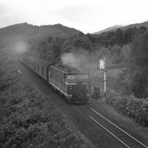 宗谷本線 DD53の後部補機を従え塩狩峠を目指す