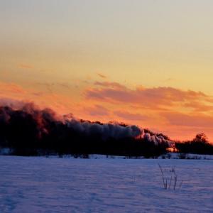 「煙の記憶」LXXIX SL冬の湿原号