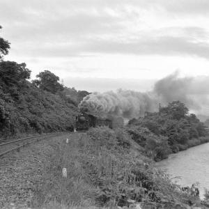幌内線 ふたたび三笠の幾春別川でD51367を撮る(2)
