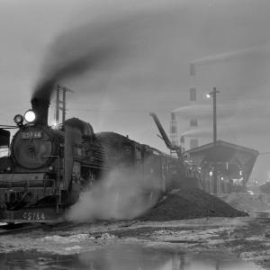 室蘭本線 苫小牧駅でC5744をバルブ撮影(2)