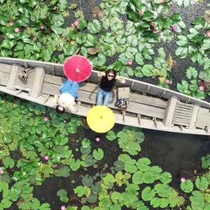 ドローン撮影が超楽しい!大人気観光スポット・レッドロータス水上マーケットに行ってきた
