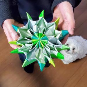 忍法みたい名前の『折り紙万華鏡』