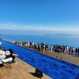 標高1100mからの絶景、琵琶湖テラス ♪
