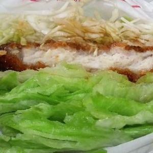 モスの菜摘ロースカツでナイスカロリー