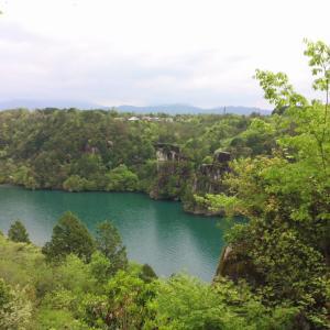 岐阜の渓谷、恵那峡へ