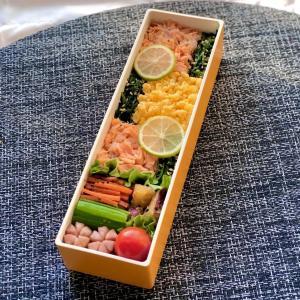 三色ご飯弁当の作り方と詰め方&メイキング動画