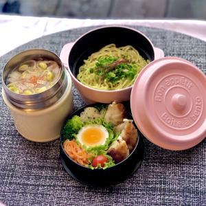 スープジャーで鍋ラーメン弁当~鍋の素を使えば超カンタン。