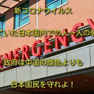 【新型コロナウイルス】日本は中国の顔色をうかがう前に日本国民を守れよ!