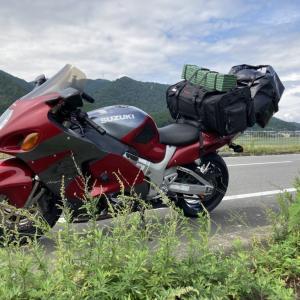 【ソロキャン】スプリングスひよしでソロキャンデビューしてきた【GSX1300R隼/キャンツー】