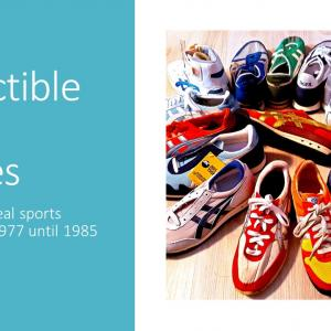 ヴィンテージ・アシックスタイガーの傑作たち:Collectible asics TIGER sports shoes