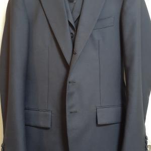 完成!「スーツは紺に始まり紺に終わる」検証用スーツ注文記