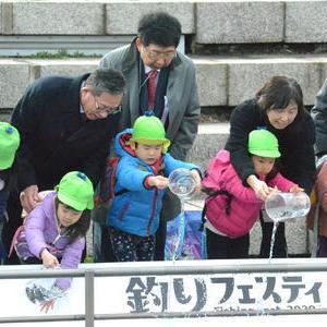 日刊スポーツ『釣りフェスティバルが横浜で開幕 グルメコーナーも』