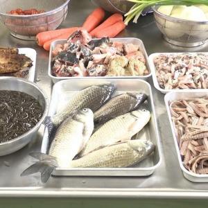 KSB瀬戸内海放送『昔は池の水を抜きフナを食べた 郷土料理の継承へ「てっぱい」などの講習会』
